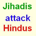 Jihadis beat up Hindu for singing 'aarti' !
