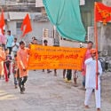 'Naam-dindi' procession taken out on the occasion of Hanuman Jayanti !