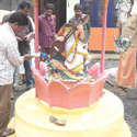 Statue of Goddess Saraswati Vandalized in School Premises