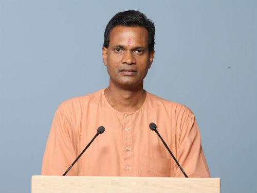 Shri. Chittaranjan Sural, National Coordinator, Hindu Janajagruti Samiti