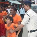 Ujjain : Kawad pilgrims hurt in police lathi-charge before Shivraj Singh Chouhan's visit