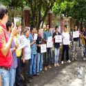 Panun Kashmir' stages demonstrations : Fanatics and foreign hand responsible for ban on Kausarnag pilgrimage