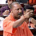 BJP MP Yogi Adityanath shreds fake secularism of Congress, to pieces !