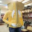 HJS Effect : Cloth merchant removes Ganapati-mask after HJS activists create awareness !