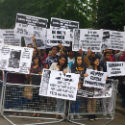 Protest against Ethnic Cleansing of Hindus and Sikhs from Pakistan