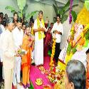 Bhagyanagar (Hyderabad) : 60-ft high Ganesh with 5 ton laddu cynosure of all eyes in Hyderabad