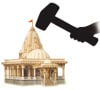 Conspiracy to seize possession of the land of an ancient Temple in Bhagyanagar