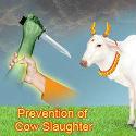 Ghaziabad : Hindu Raksha Dal demands ban on hidden sale of beef