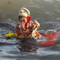 HJS' Maharashtra state-wide campaign of Ganesh idol immersion as per Dharmashastra