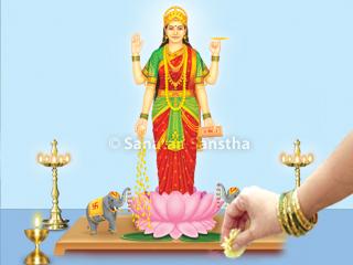 offering-flower-to-goddess