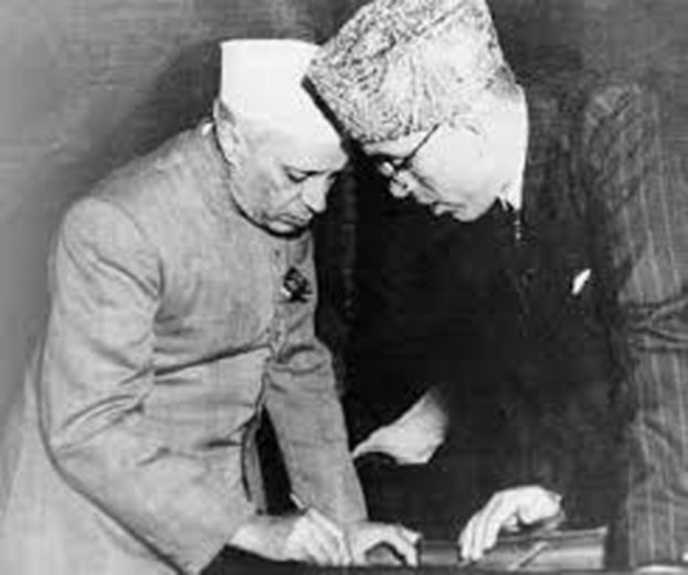 Image result for नेहरू शेख अब्दुल्ला और कश्मीर