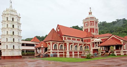 श्री शांतादुर्गा मंदिर, कवळे, गोवा