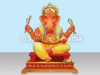 What is the ideal way of making Shri Ganesh Murti (Idol of Shri
