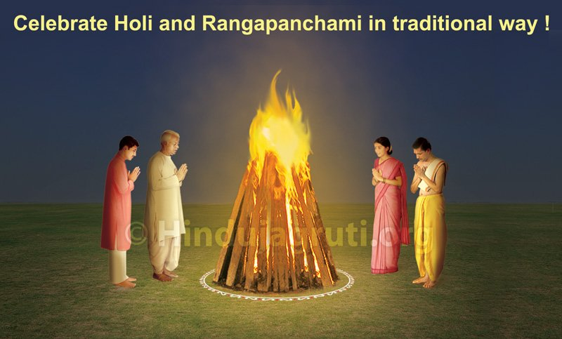 Holi festival and Rang panchami