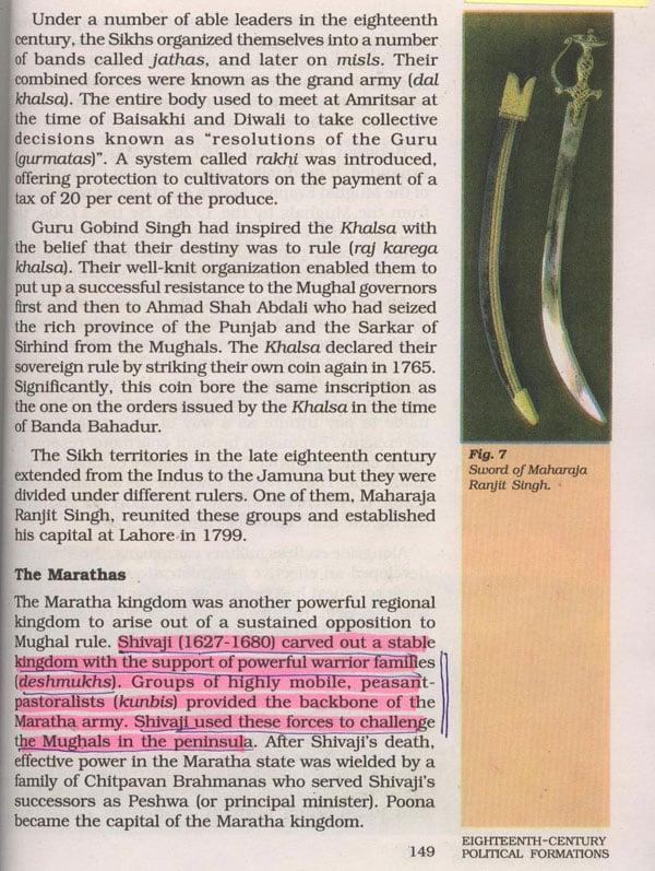 Only 5 lines on Chattrapati Shivaji Maharaj