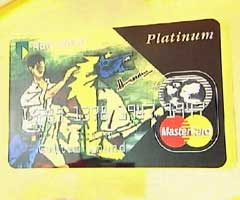 Protest Credit Card with Husain's Art