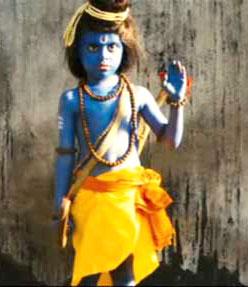 God Rama in the scene of movie 'Slumdog Millionaire'