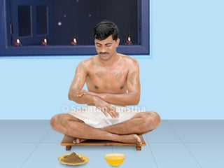 How to do Abhyangsnan (oil bath) ?