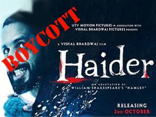 HAIDER_boycott