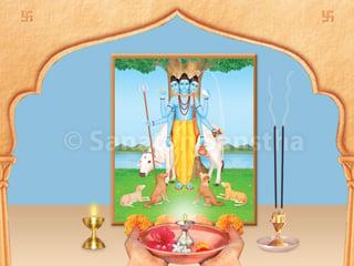 Worship of Shri Datta and Dattatreya puja - Hindu