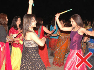 Avoid the malpractices celebrate Navratri in ideal way by traditional Garba