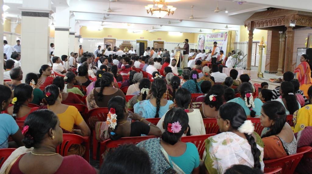 Audience attending the program