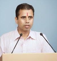 Shri. Neeraj Atri, a devout Hindu, Chandigad