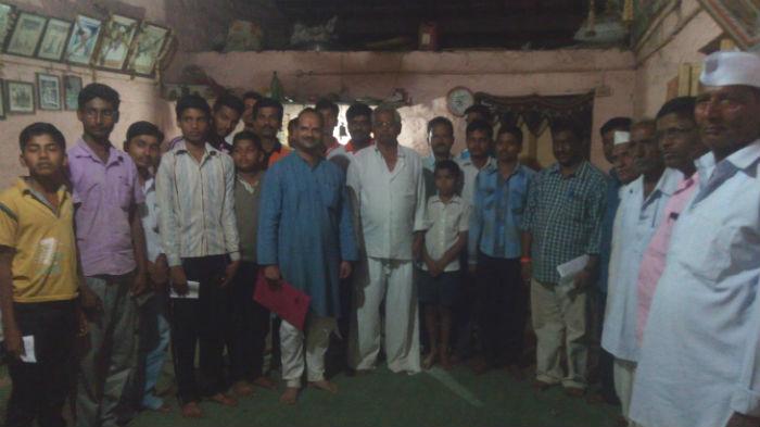Hindu activists creating awareness regarding the PMDS scam
