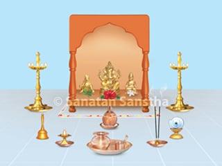 Why is shankh blown before start of puja? - Hindu Janajagruti Samiti