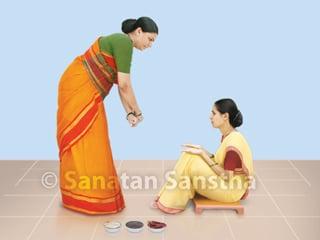 Casting off the Evil-eye – Nazar Utarna - Hindu Janajagruti