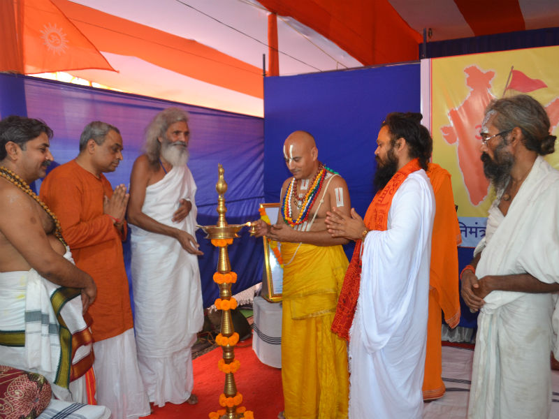 Inaugration of the Saints' Meet by Lamp Lighting