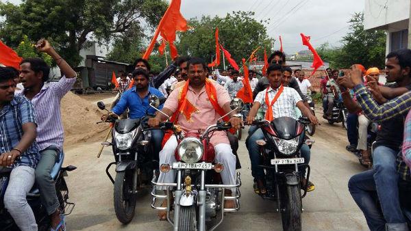 Shri. T. Raja Singh attends 2 programs at Adoni (Andhra Pradesh)