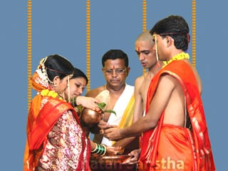 Hindu Marriage rituals and actions performed on the day of Marriage