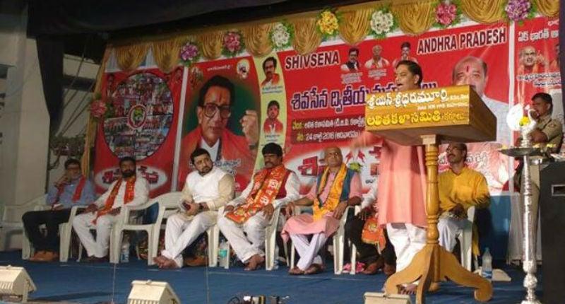 Karnool (AP) : Shri. Ramesh Shinde, national spokesperson, HJS addressing the rally