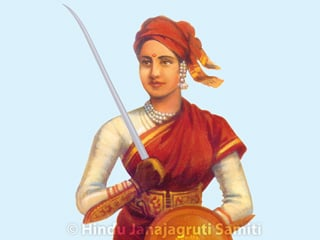history of jhansi rani lakshmi bai in hindi