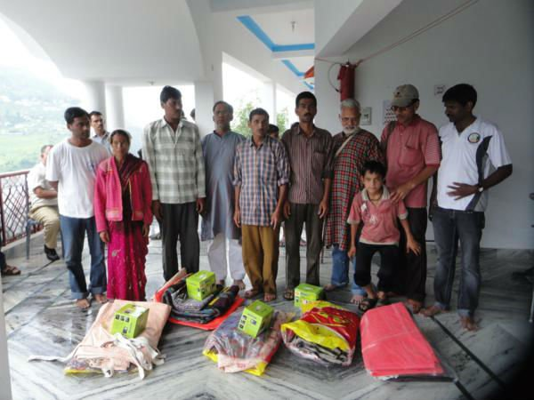 Uttarakhand flood relief work 2013