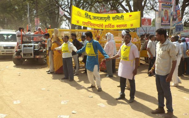 Ujjain Kumbh 2016 : HJS help in maintaining order !