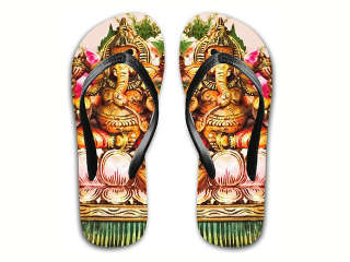 e7bedf1ec43 Upset Hindus seek apology as Etsy sells Ganesh Flip Flops - Hindu  Janajagruti Samiti