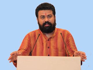 Effective unification of youth possible due to workshops by Hindu Janajagruti Samiti – Mr. Atul Jeswani, Hindu Seva Parishad, Jabalpur, Madhya Pradesh