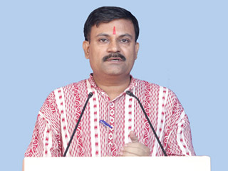 Establishment of Hindu Rashtra is the only solution to all problems : Shri. Bighneshwar Das