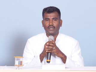 Sri Lankan Hindus are on the verge of annihilation owing to conversions !- Shri. Kanahiya Dineshwaran, 'Hindutvavadi', Sri Lanka