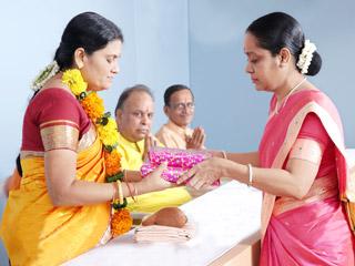 Sou. Sangita Jadhav from Mumbai (Maharashtra) attained Sainthood