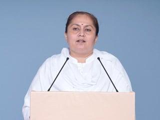 'Pujyapad Santashri Asaramji Bapu was falsely alleged as dishonest and guilty by holding media trial' - Sadhvi Rekha Bahenji