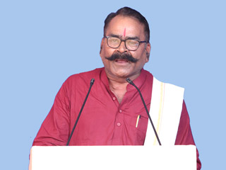 In the mission of establishment of Hindu Rashtra, our organisation shall work hand in hand with HJS : Rajendranath Tripathi