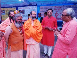 Kumbhnagari : Good response received for exhibition on atrocities on Kashmiri Hindus