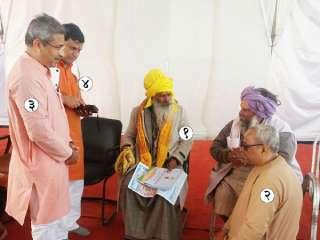 Mission undertaken by Sanatan Sanstha is praiseworthy : Mahant Krushnadasji Maharaj