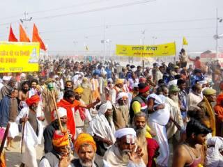 Sanatan Sanstha extends welcome to Saints and Seers : Sadhus acclaim Sanatan