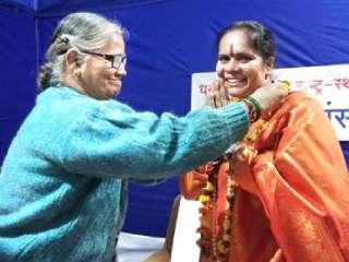 Sanatan Sanstha and HJS are making good efforts for protection of culture : Sadhvi Dr. Prachi